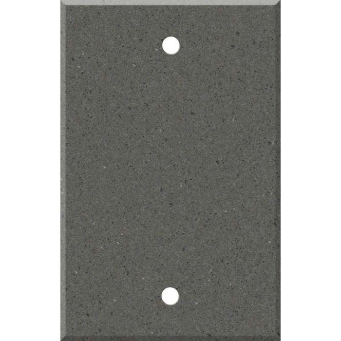 Corian Lava Rock Blank Wall Plate Cover