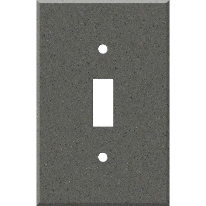 Corian Lava Rock Single 1 Toggle Light Switch Plates