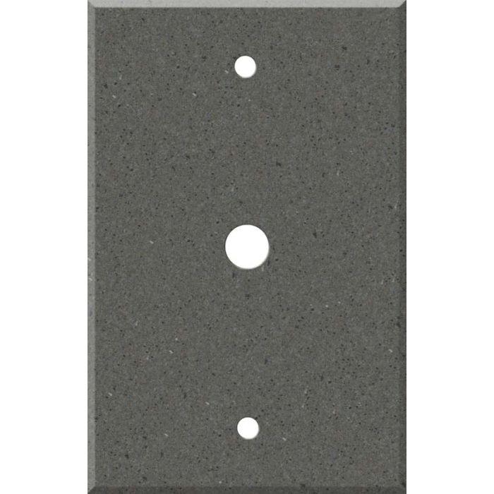 Corian Lava Rock Coax Cable TV Wall Plates