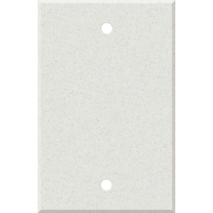 Corian Linen 1 Gang Blank Wall Plates