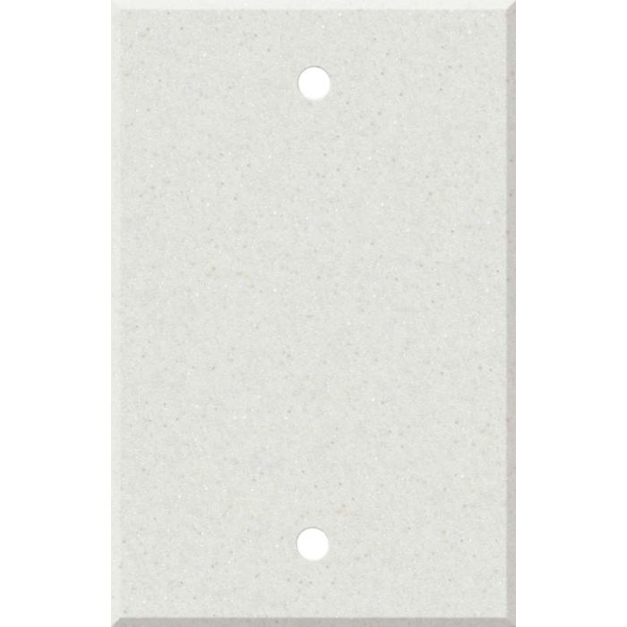 Corian Linen Blank Wall Plate Cover