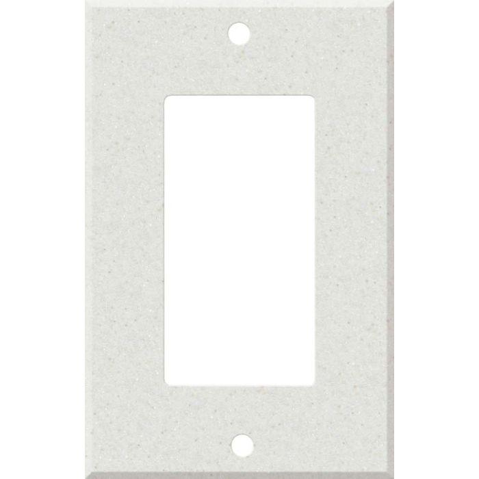 Corian Linen 1-Gang GFCI Decorator Rocker Switch Plate Cover