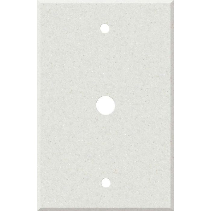 Corian Linen Coax Cable TV Wall Plates