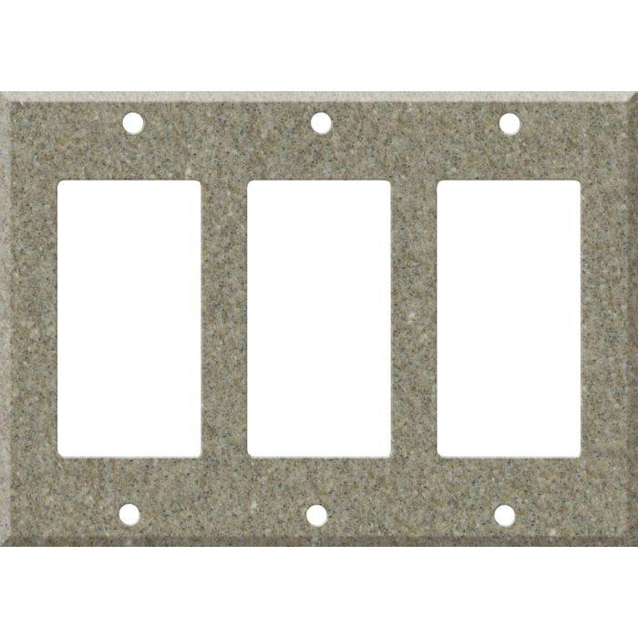 Corian Matterhorn 3 - Rocker / GFCI Decora Switch Plate Cover