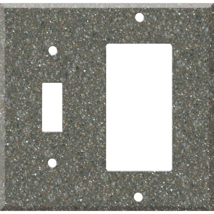Corian Maui Combination 1 Toggle / Rocker GFCI Switch Covers