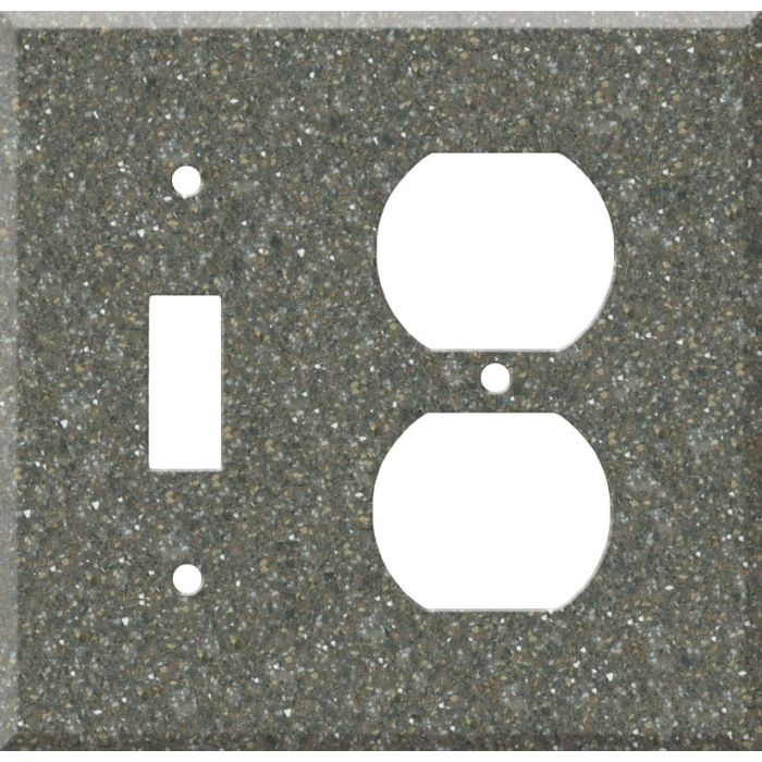 Corian Maui Combination 1 Toggle / Outlet Cover Plates