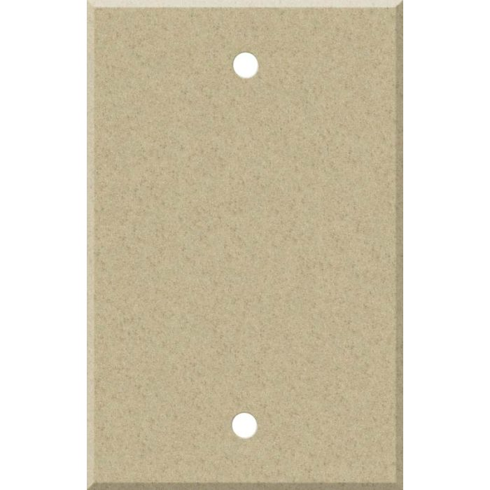 Corian Mojave Blank Wall Plate Cover