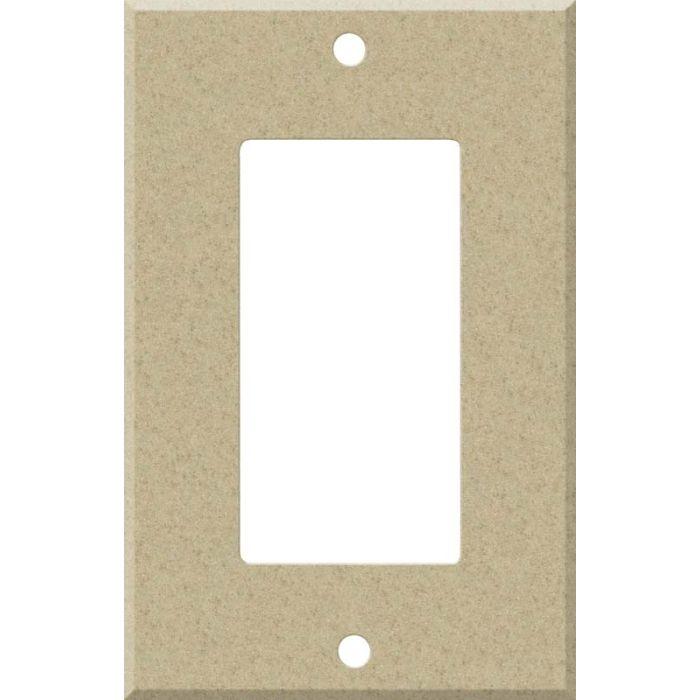 Corian Mojave Single 1 Gang GFCI Rocker Decora Switch Plate Cover