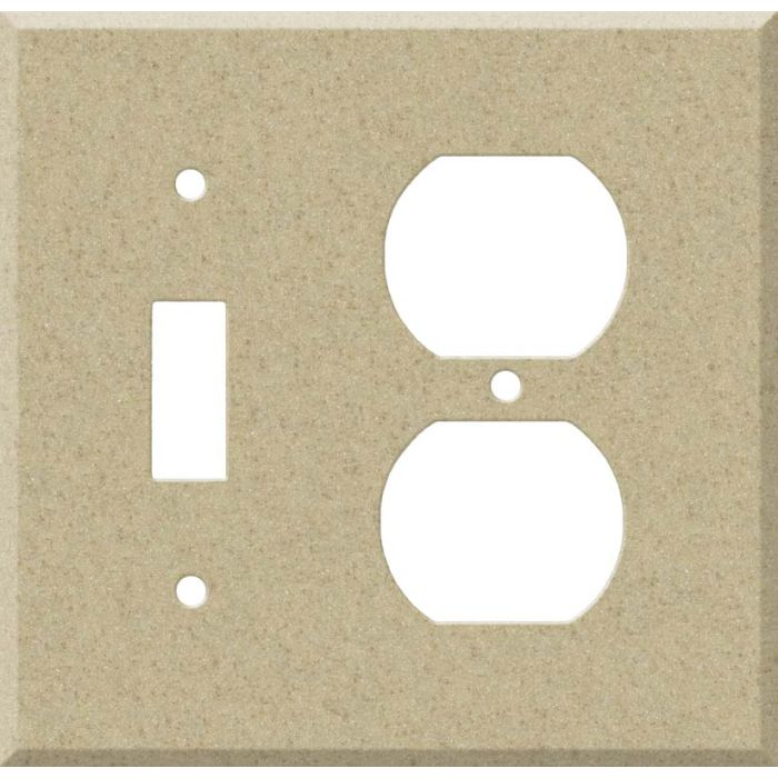 Corian Mojave Combination 1 Toggle / Outlet Cover Plates