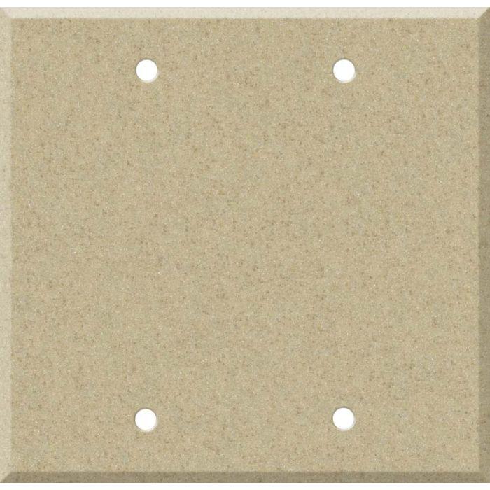 Corian Mojave Double Blank Wallplate Covers
