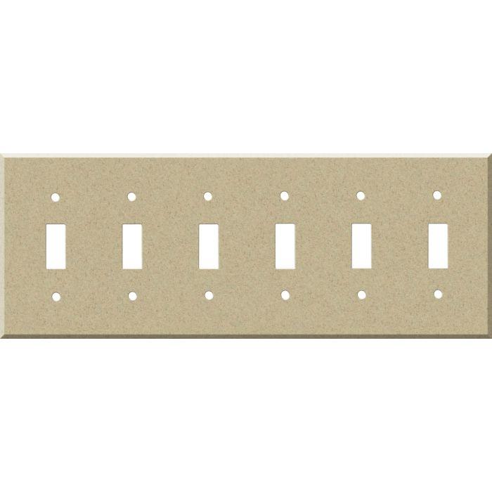 Corian Mojave 6 Toggle Wall Plate Covers