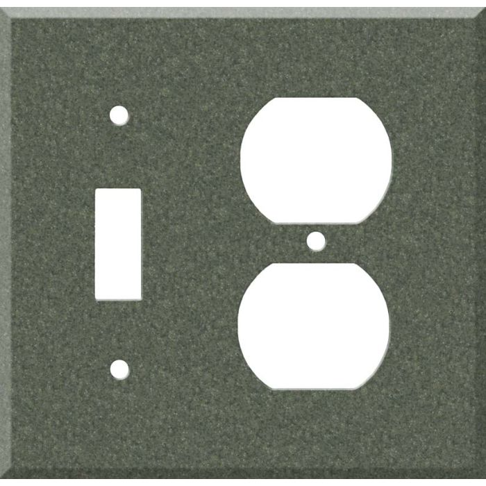 Corian Moss Combination 1 Toggle / Outlet Cover Plates