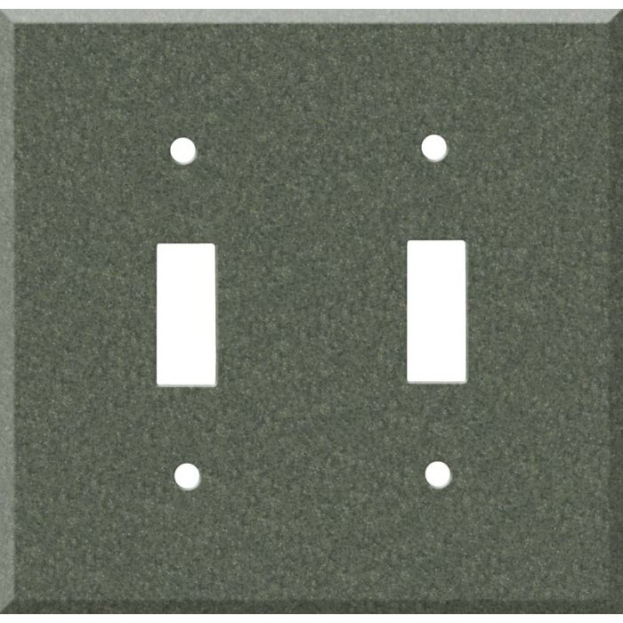 Corian Moss Double 2 Toggle Switch Plate Covers