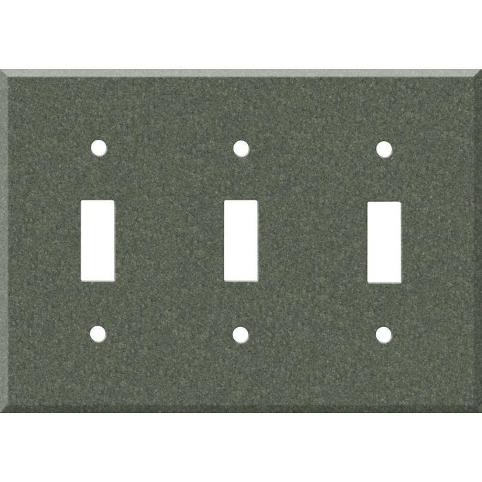 Corian Moss Triple 3 Toggle Light Switch Covers