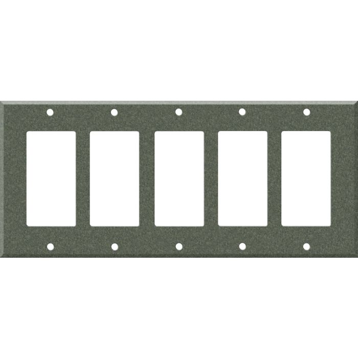 Corian Moss 5 GFCI Rocker Decora Switch Covers