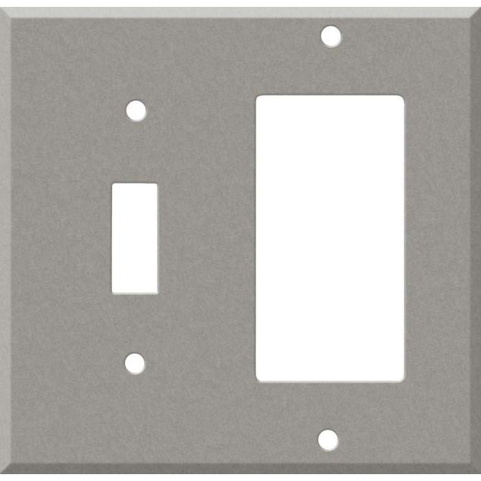 Corian Natural Gray Combination 1 Toggle / Rocker GFCI Switch Covers