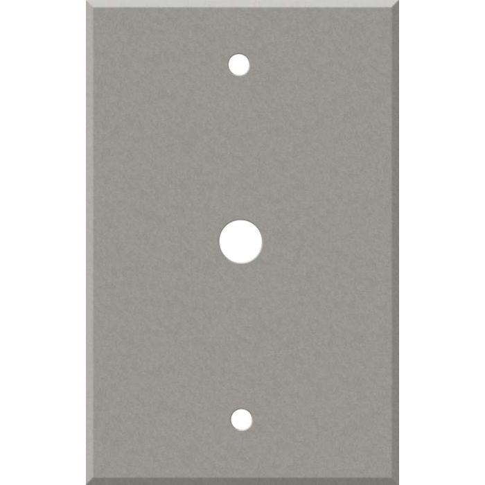 Corian Natural Gray Coax Cable TV Wall Plates
