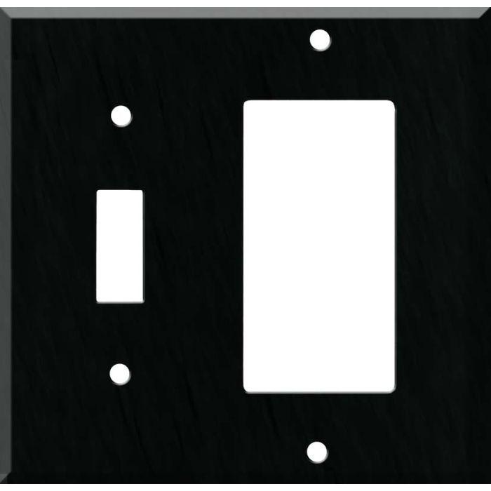 Corian Deep Nocturne Combination 1 Toggle / Rocker GFCI Switch Covers