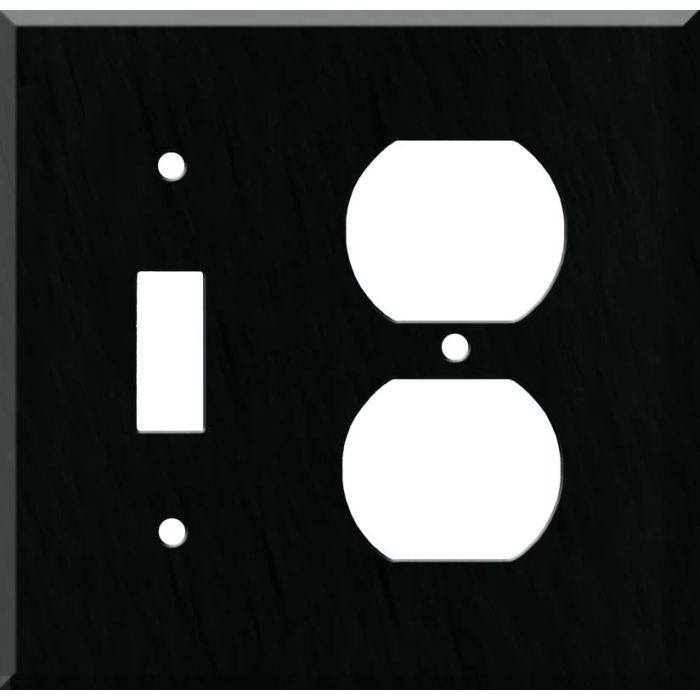 Corian Deep Nocturne Combination 1 Toggle / Outlet Cover Plates