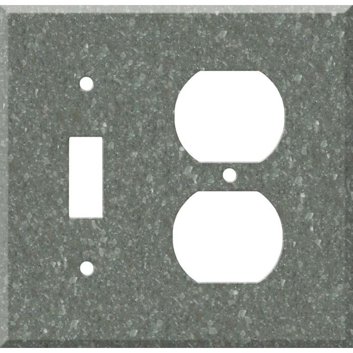 Corian Pine Combination 1 Toggle / Outlet Cover Plates