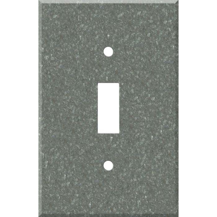Corian Pine Single 1 Toggle Light Switch Plates