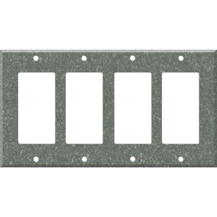 Corian Pine 4 Rocker GFCI Decorator Switch Plates