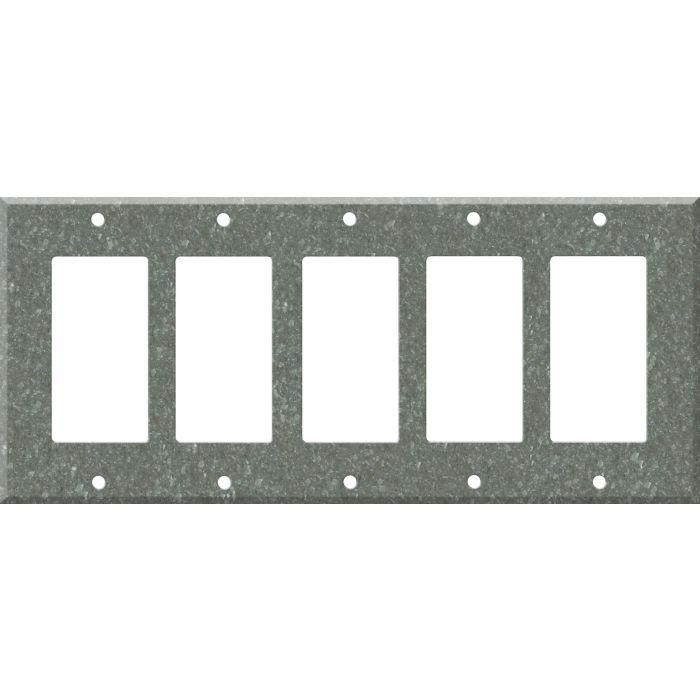 Corian Pine 5 GFCI Rocker Decora Switch Covers