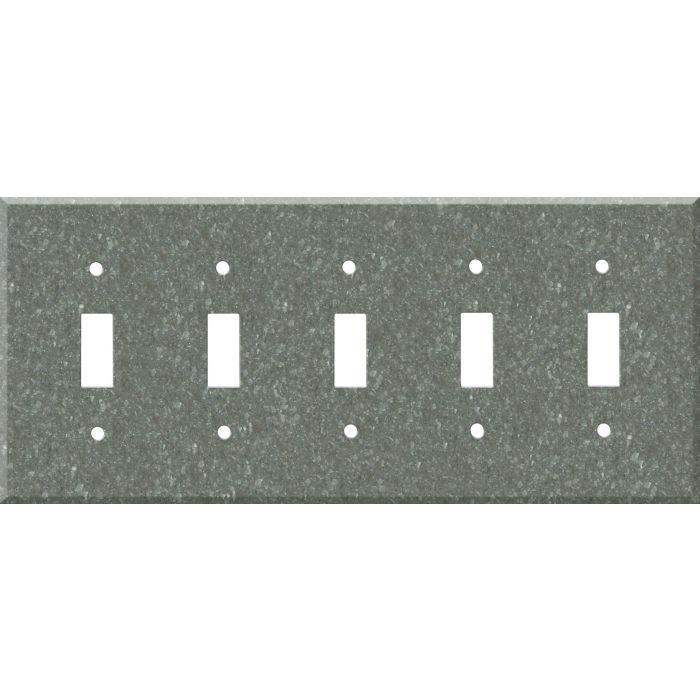 Corian Pine 5 Toggle Wall Switch Plates