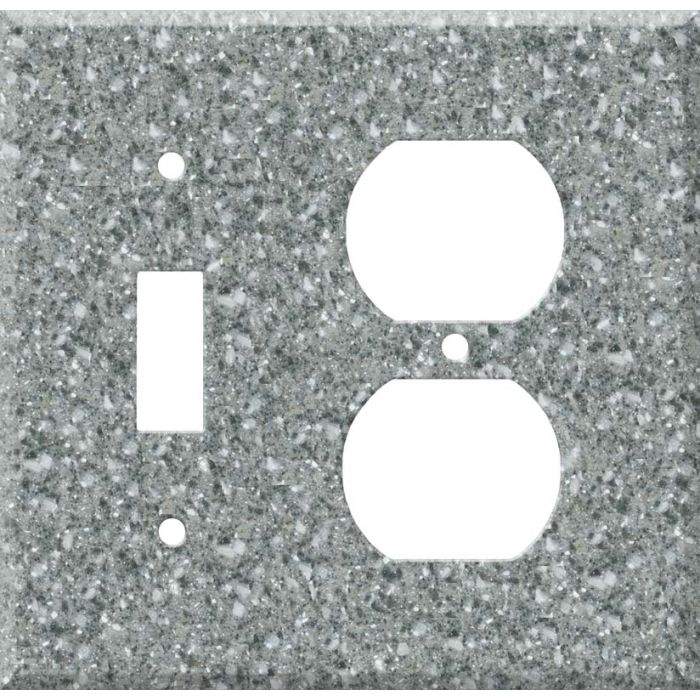 Corian Platinum Combination 1 Toggle / Outlet Cover Plates