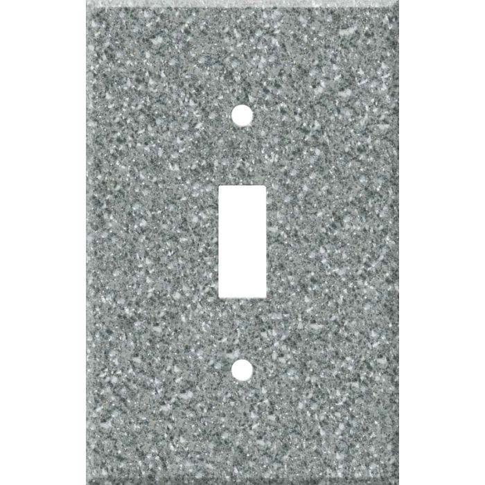 Corian Platinum Single 1 Toggle Light Switch Plates