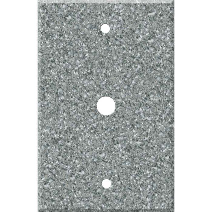Corian Platinum Coax Cable TV Wall Plates
