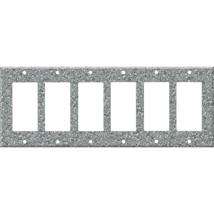 Corian Platinum - 6 GFI Rocker Decora