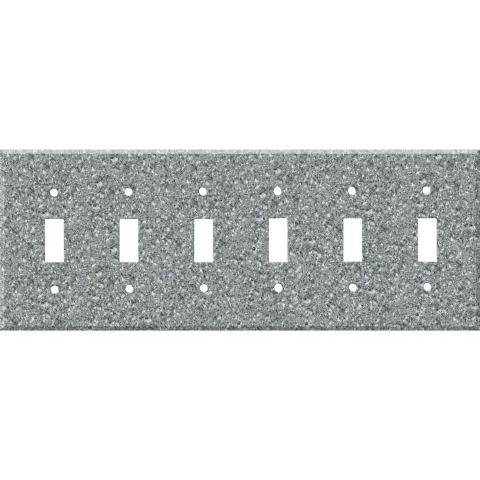Corian Platinum 6 Toggle Wall Plate Covers