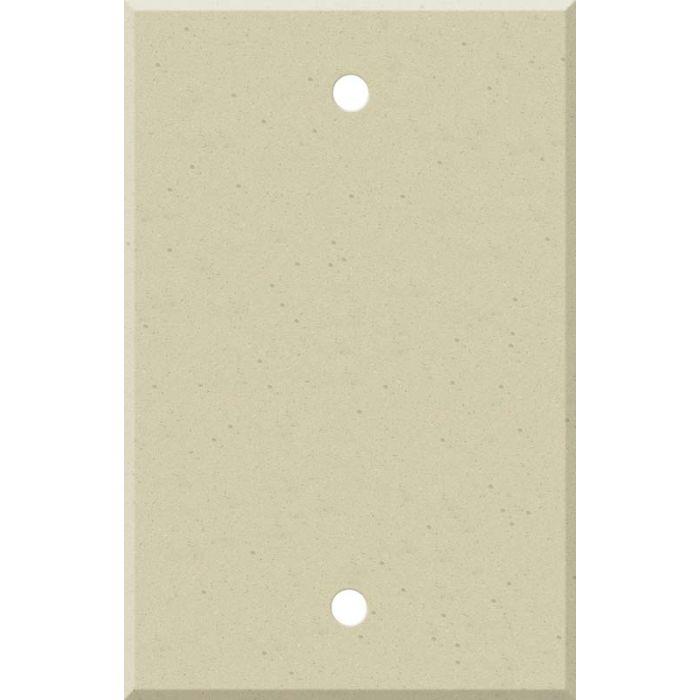 Corian Raffia Blank Wall Plate Cover