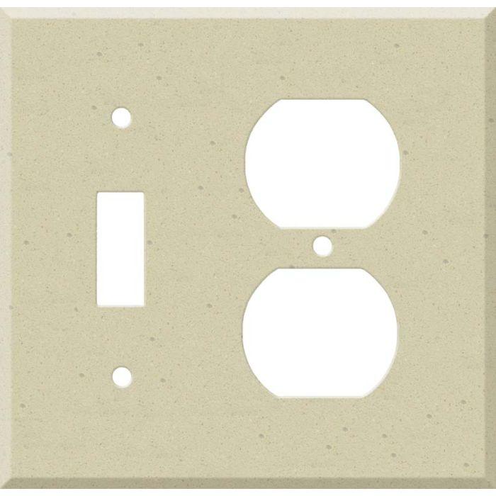 Corian Raffia Combination 1 Toggle / Outlet Cover Plates