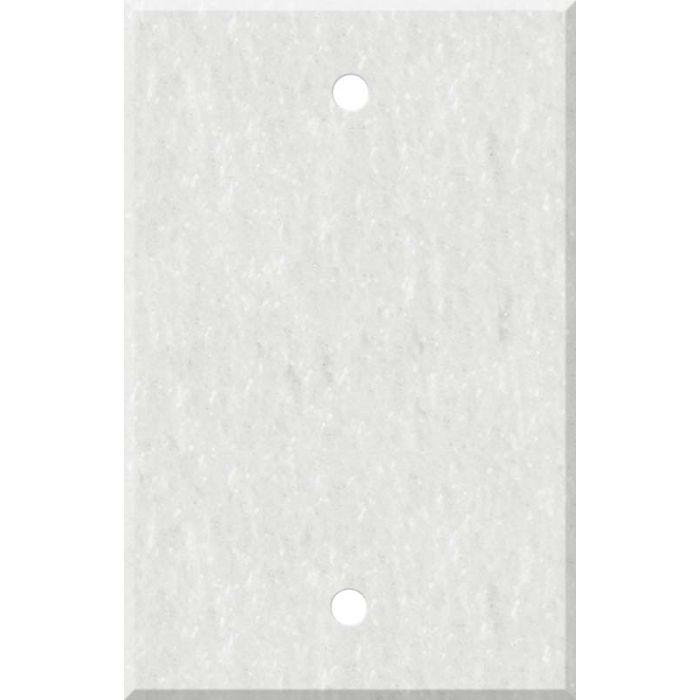 Corian Rain Cloud Blank Wall Plate Cover