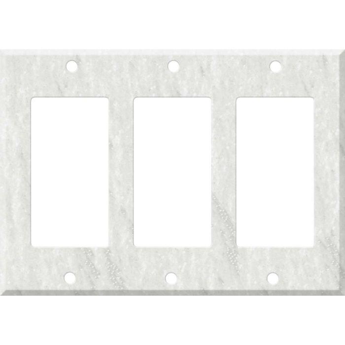 Corian Rain Cloud 3 - Rocker / GFCI Decora Switch Plate Cover