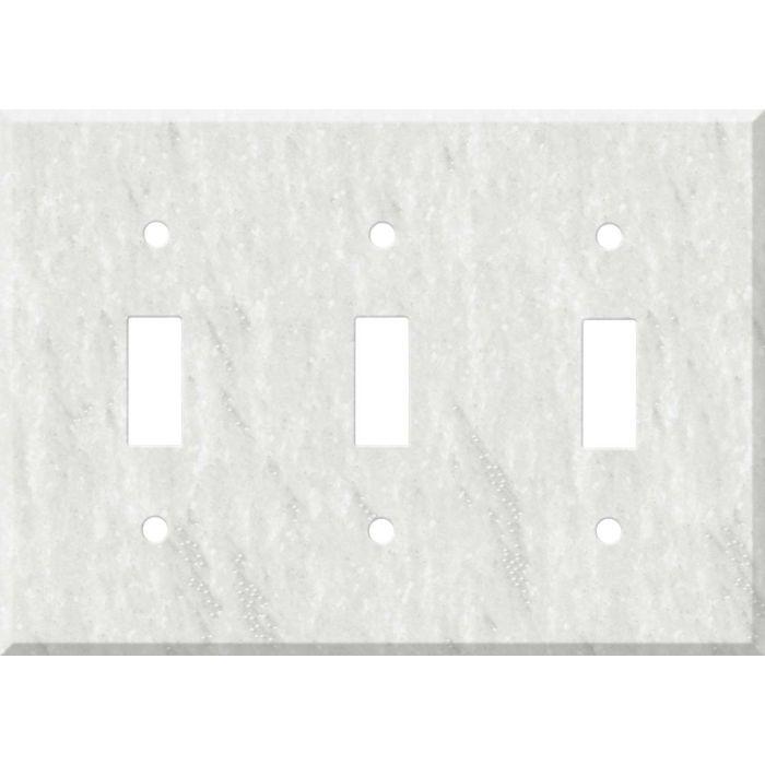 Corian Rain Cloud 3 - Toggle Switch Plates