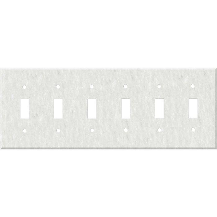 Corian Rain Cloud 6 Toggle Wall Plate Covers