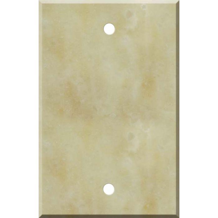 Corian Saffron Blank Wall Plate Cover