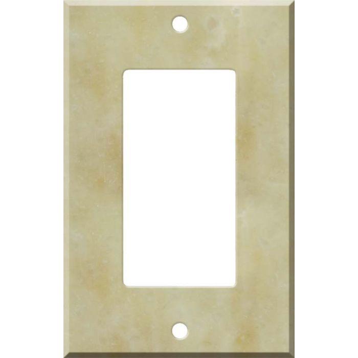 Corian Saffron Single 1 Gang GFCI Rocker Decora Switch Plate Cover