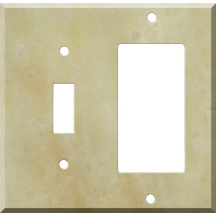 Corian Saffron Combination 1 Toggle / Rocker GFCI Switch Covers