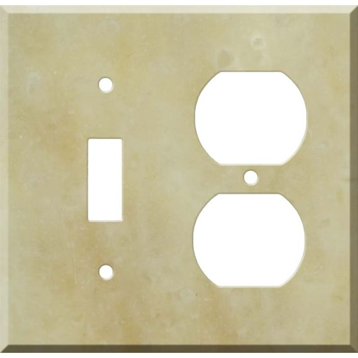 Corian Saffron Combination 1 Toggle / Outlet Cover Plates