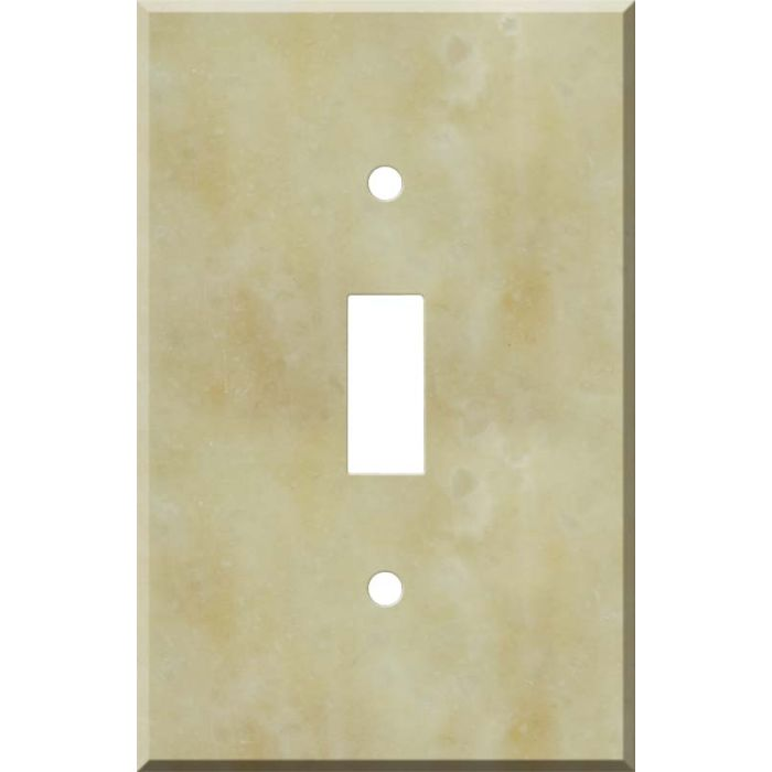 Corian Saffron Single 1 Toggle Light Switch Plates