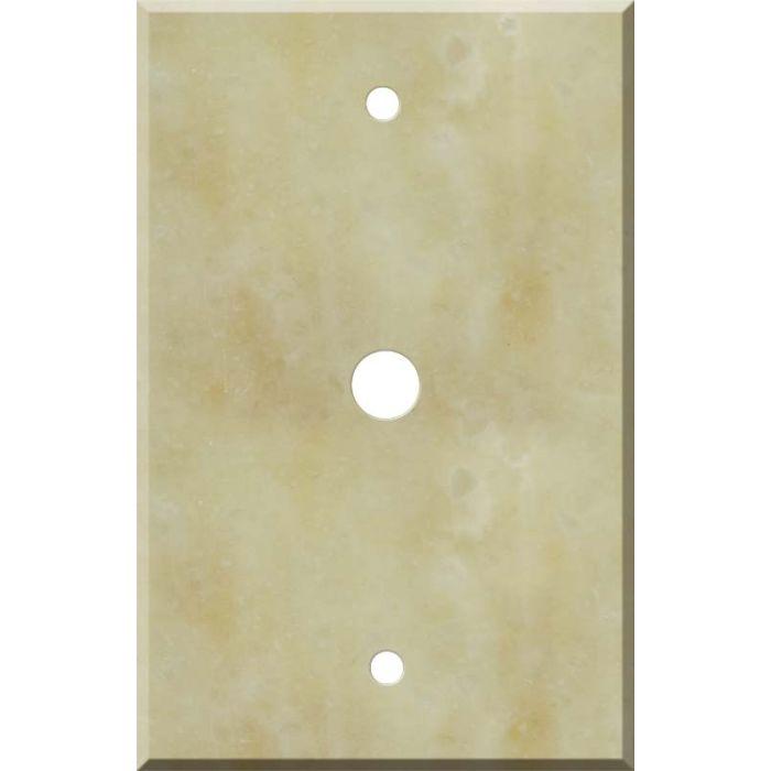 Corian Saffron Coax Cable TV Wall Plates