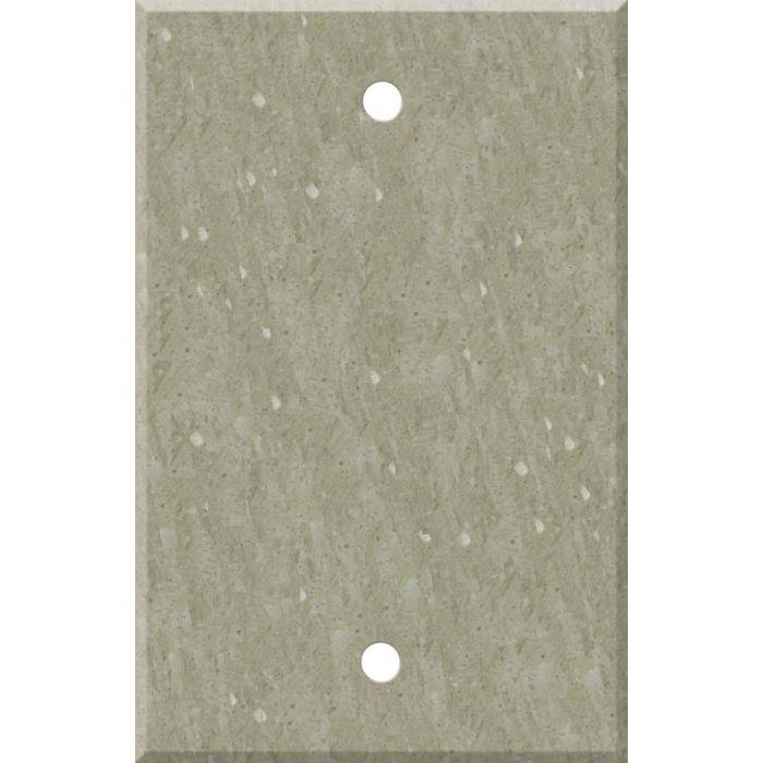 Corian Sagebrush Blank Wall Plate Cover
