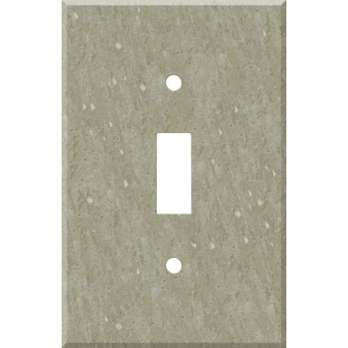 Corian Sagebrush Single 1 Toggle Light Switch Plates