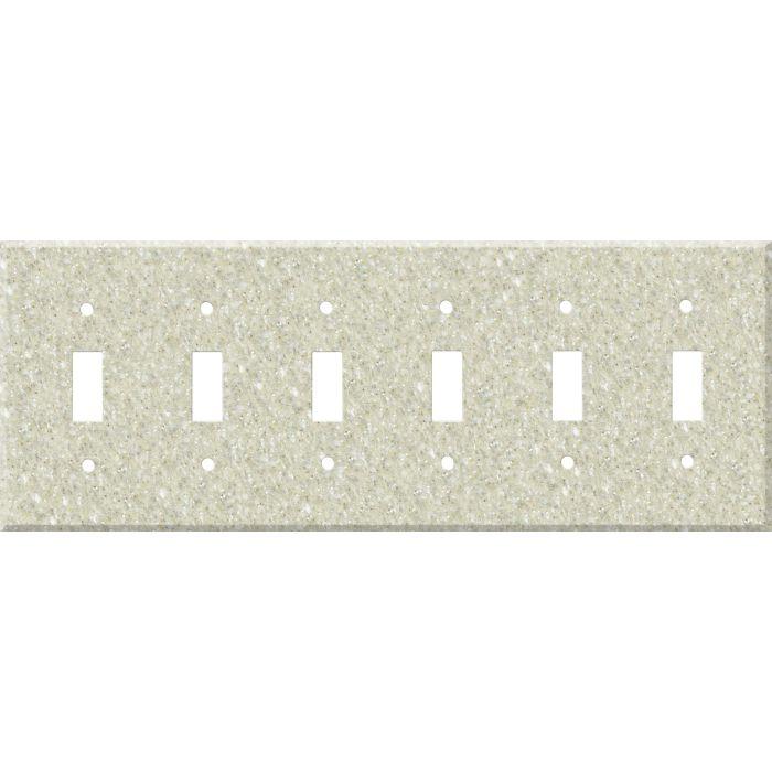 Corian Sahara 6 Toggle Wall Plate Covers