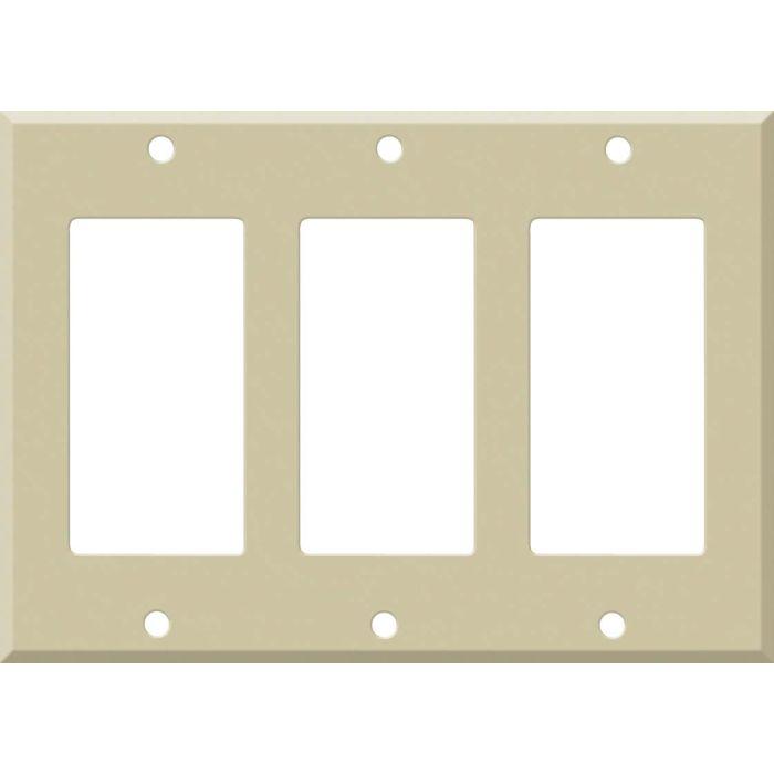 Corian Sand 3 - Rocker / GFCI Decora Switch Plate Cover