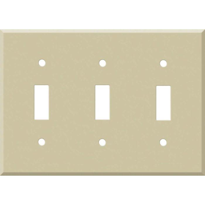 Corian Sand 3 - Toggle Switch Plates